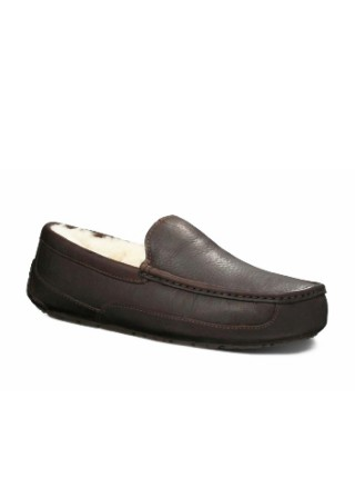 UGG Ascot Leather Brown