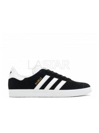 Adidas Gazelle Black White Gold Metallic BA9595