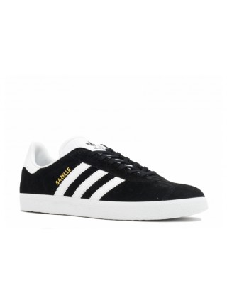 Adidas Gazelle Black White Gold Metallic BA9595