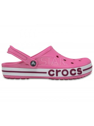 CROCS Bayaband Clogs Pink / Papper