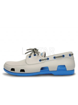 CROCS Beach Line Boat Grey Blue M