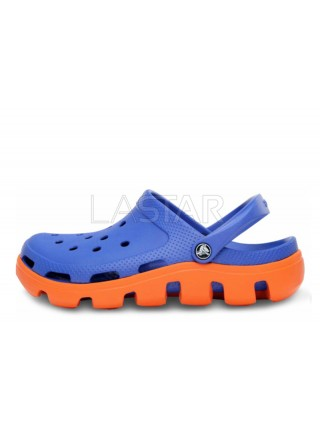 CROCS Duet Sport Clog Blue Orange M