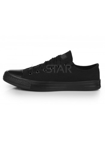 Converse Chuck Taylor All Star Low Mono Black M