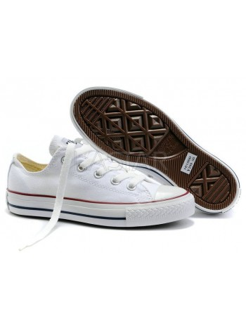 Converse Chuck Taylor All Star Low White M