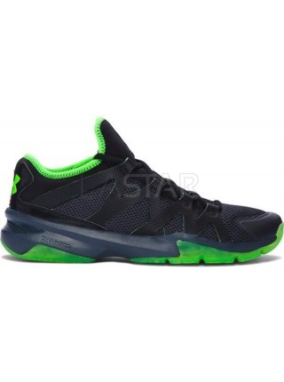 "Under Armour Charged Phenom 2 ""Black Green"""
