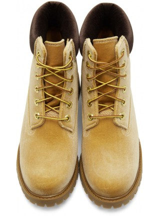 OFF-WHITE X Timberland Ginger Boots