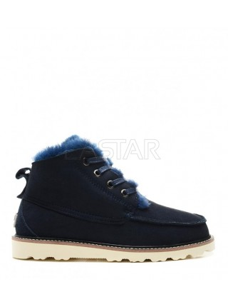 UGG David Beckham Suede Boot Navy
