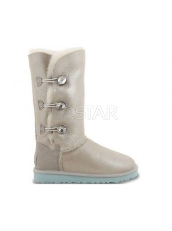 UGG Classic Tall Bailey Button Triplet Bling Boot I Do