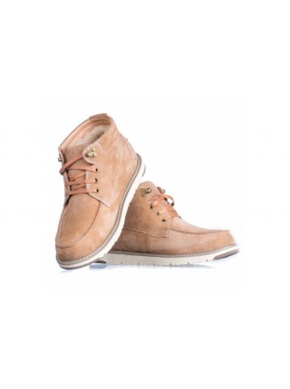 UGG David Beckham Suede Boot Chestnut