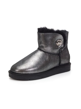 UGG AUS 1978 Mini Bailey Glitter Black Classic
