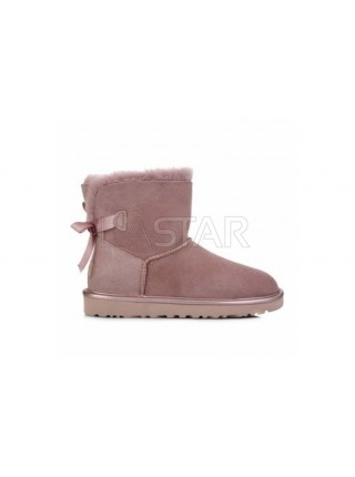 UGG Classic Mini Bailey Bow Dusk